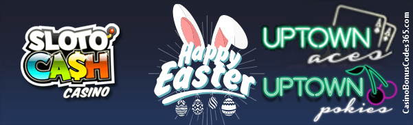 SlotoCash Casino Uptown Aces uptown Pokies Easter Day