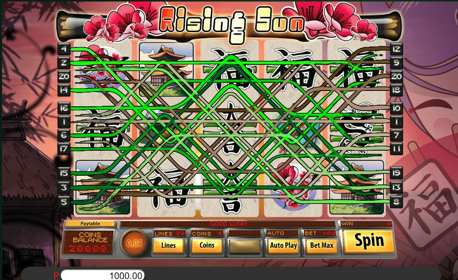 Bella Vegas Casino Saucify Rising Sun