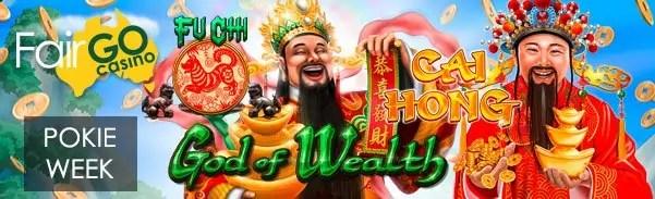 Fair Go Casino Asian themed Pokies Week