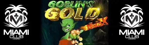 Miami Club Casino WGS Goblins Gold LIVE