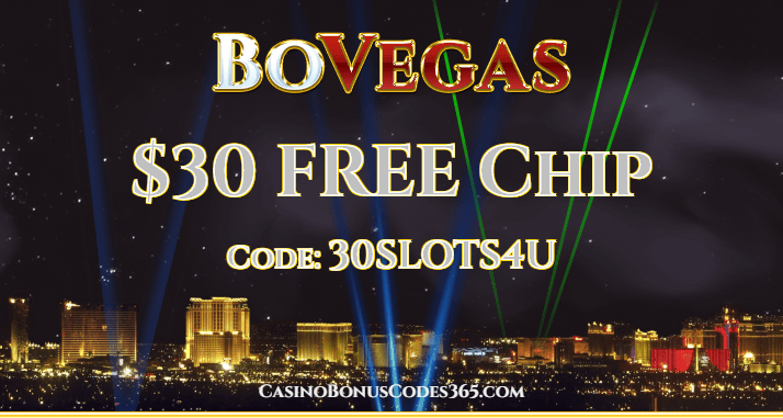 BoVegas Casino $30 FREE Chip