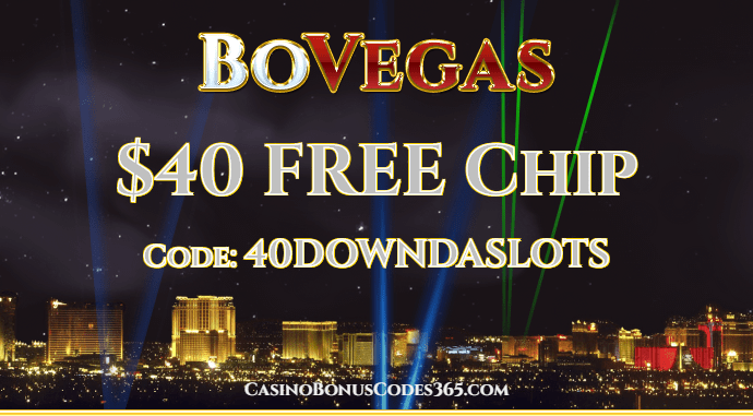 BoVegas Casino $40 FREE Chip