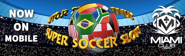 Miami Club Casino WGS Super Soccer LIVE