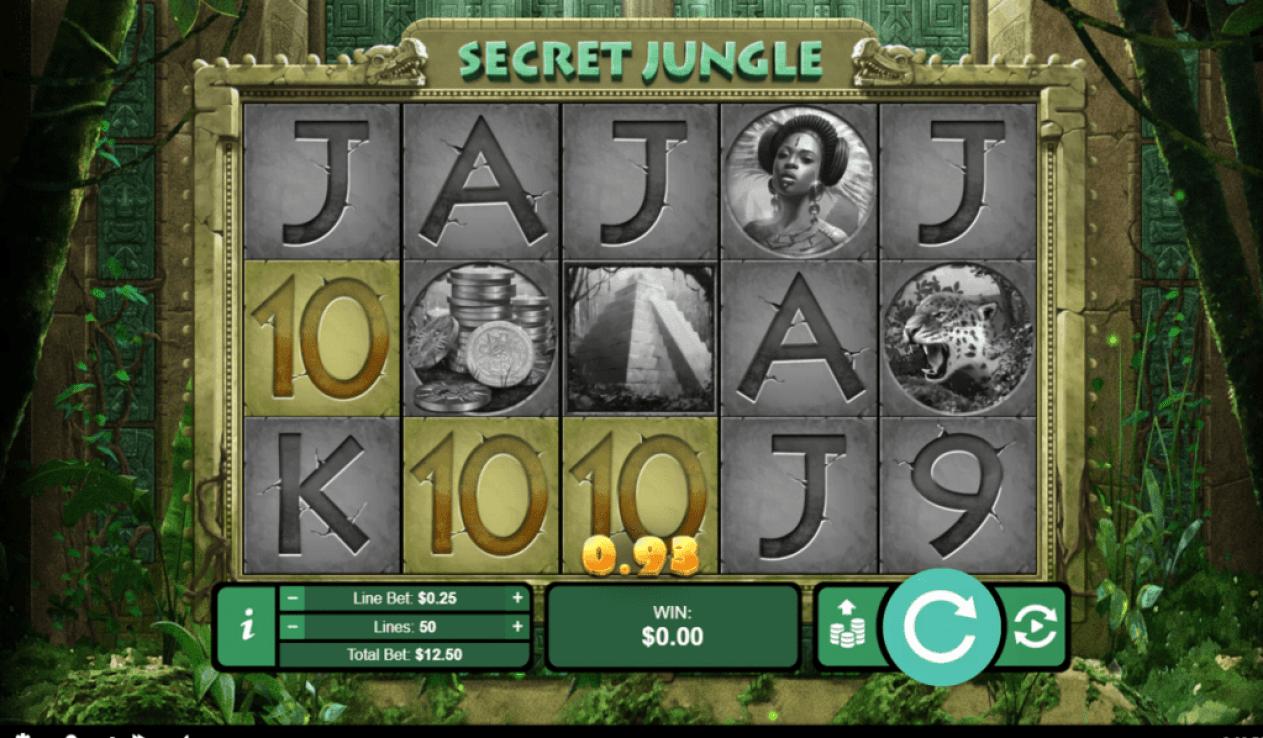 Kudos Casino RTG Secret Jungle
