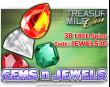 Treasure Mile Casino Saucify Gems n Jewels 30 No Deposit FREE Spins June Special Promo