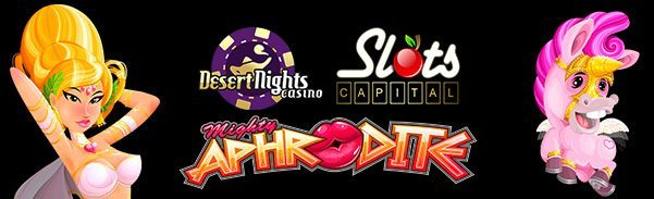 Slots Capital Online Casino Desert Nights Casino Mighty Aphrodite Rival Gaming