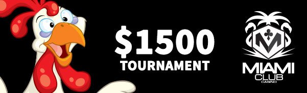 Miami Club Casino $1500 Chicken Pot Pie Tournament WGS Funky Chicken