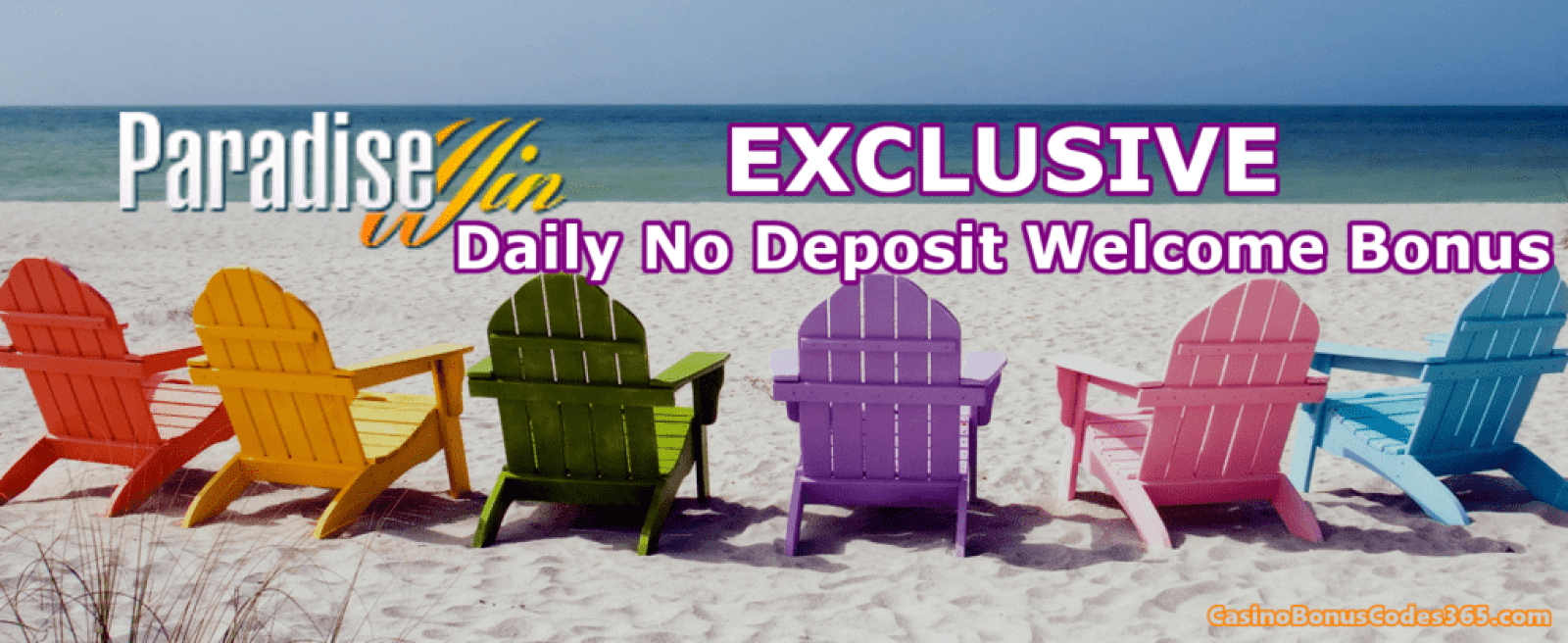 ParadiseWin Casino Exclusive No Deposit Welcome Offer