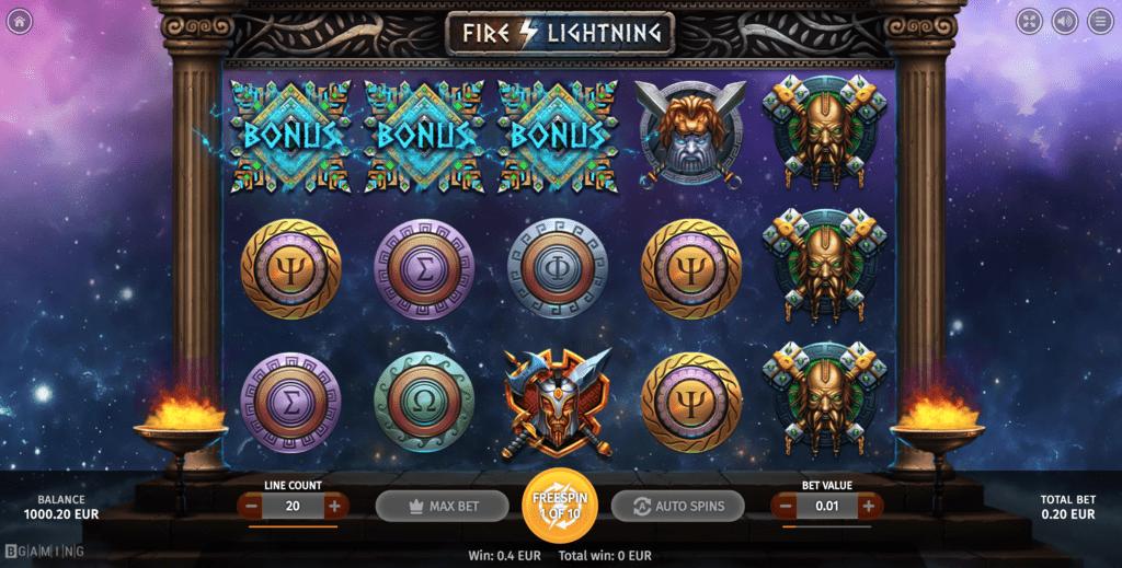 WildTornado BGaming Fire Lightning 25 No Deposit FREE Spins Sign up Bonus