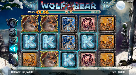 CyberBingo 20 FREE Mobilots Wolf and Bear Spins plus $25 FREE Bingo Bonus