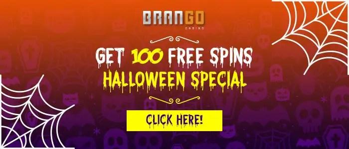 Casino Brango 100 Halloween FREE Spins RTG Bubble Bubble 2
