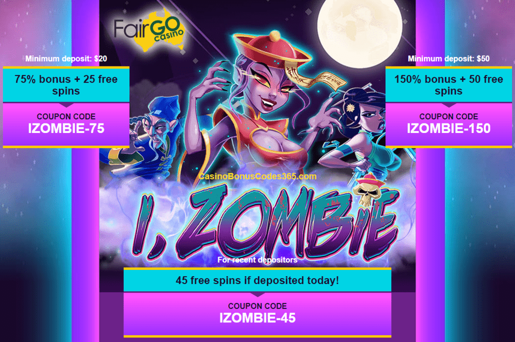 Fair Go Casino New Rtg Game I Zombie Bonuses And Free Spins