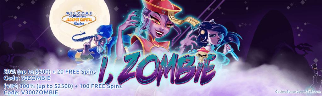 Jackpot Capital New Rtg Game I Zombie 100 Bonus And 40 Free Spins