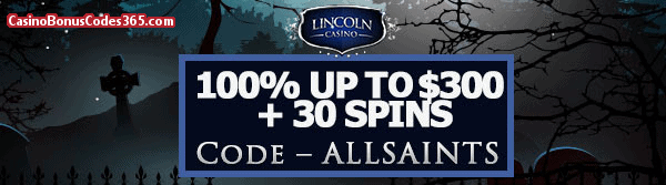 Lincoln Casino 100% up to $300 plus 30 FREE Dolphin Reef Spins Special Offer