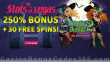 Slots of Vegas 250% Match Bonus plus 30 FREE Spins on RTG Bubble Bubble 2 Special Offer