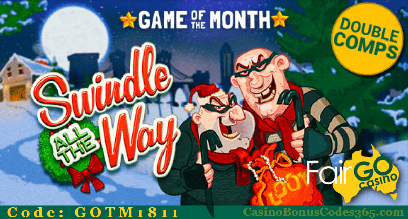 Fair Go Casino November Games of the Month RTG Swindle All The Way