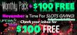 Uptown Aces November Slots Giving Bonus Pack
