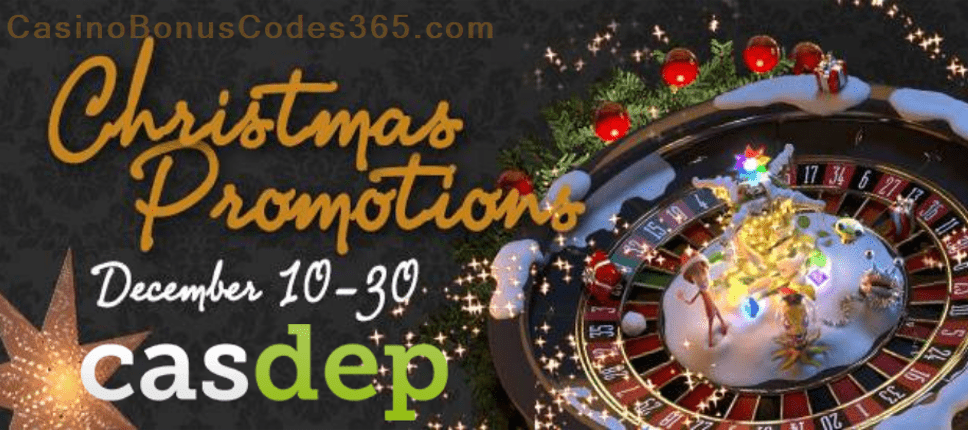 Casdep Casino Red Christmas Promotions