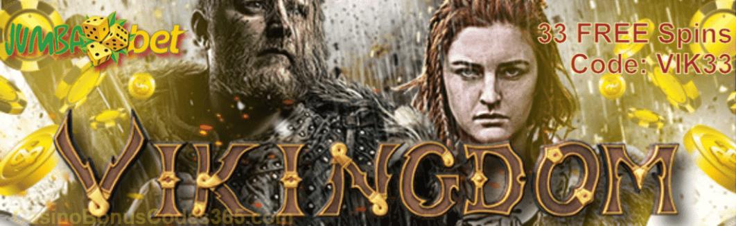 Jumba Bet Vikingdom 35 FREE Saucify Vikingdom Spins