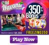 Old Havana Casino 350% Match Bonus