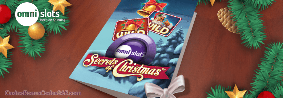 Omni Slots Christmas Cards Bonus