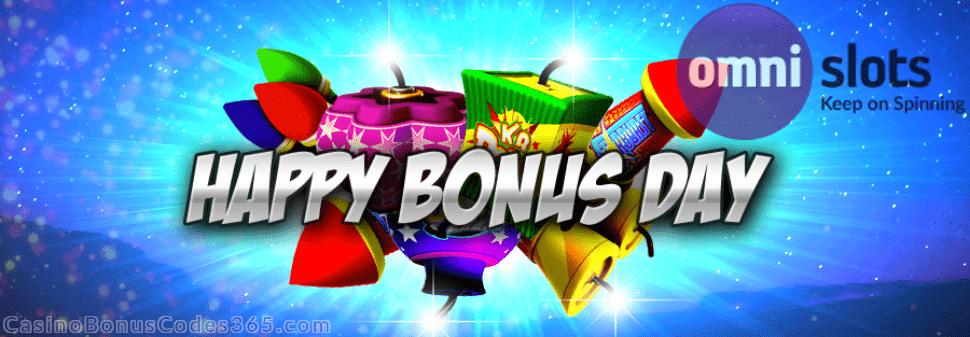 Omni Slots 2019 Happy Bonus Day