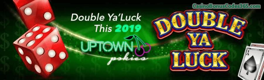 Uptown Pokies RTG Double Ya Luck Weekly Match