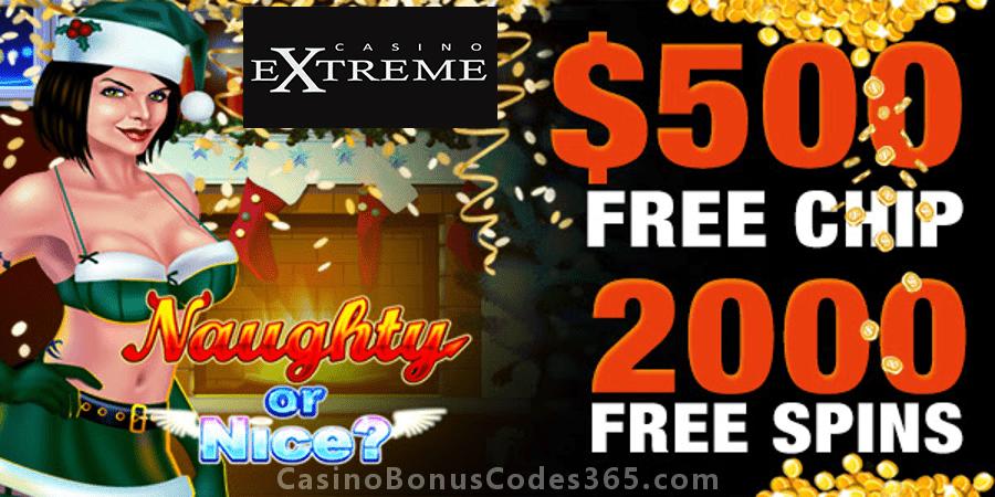 Casino Extreme Extreme January Tournament RTG Naughty or Nice III