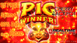 Cherry Jackpot 25 FREE Spins plus 80% Match New RTG Game Pig Winner Special Promo