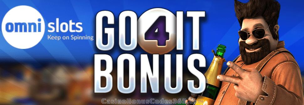 Omni Slots Go4It Bonus