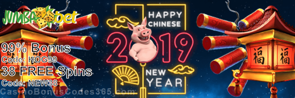 Jumba Bet Great Fortune In The Year Of The Pig Promo Casino