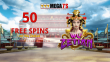 Mega7s Casino 50 FREE RTG Wu Zetian Spins Exclusive Deal