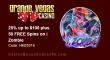 Grande Vegas Casino 25% up to $100 plus 50 FREE Spins RTG i Zombie Special Offer