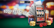 Mega7s Casino Exclusive $20 FREE Chip Welcome Deal