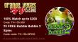 Grande Vegas Casino 150% up to $300 Bonus plus 25 FREE Spins on RTG Sweet 16 Special Promo