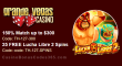 Grande Vegas Casino 150% up to $300 Bonus plus 25 FREE Spins on RTG Lucha Libre 2 Special Offer