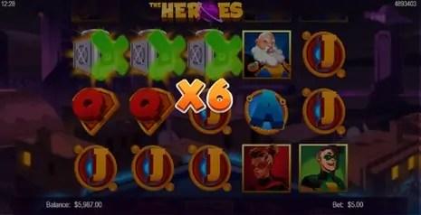 Vegas Crest Casino Mobilots The Heroes