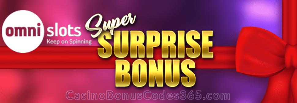 Omni Slots Super Surprise Bonus