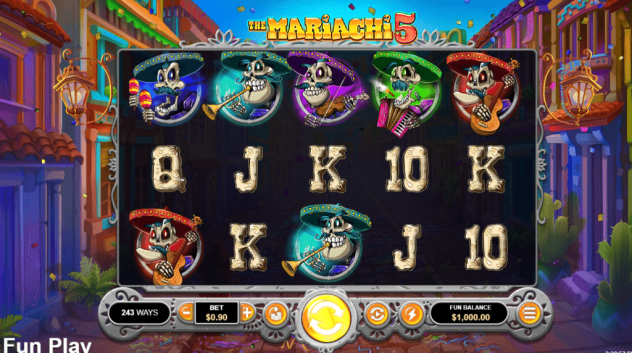 True Blue Casino RTG The Mariachi 5