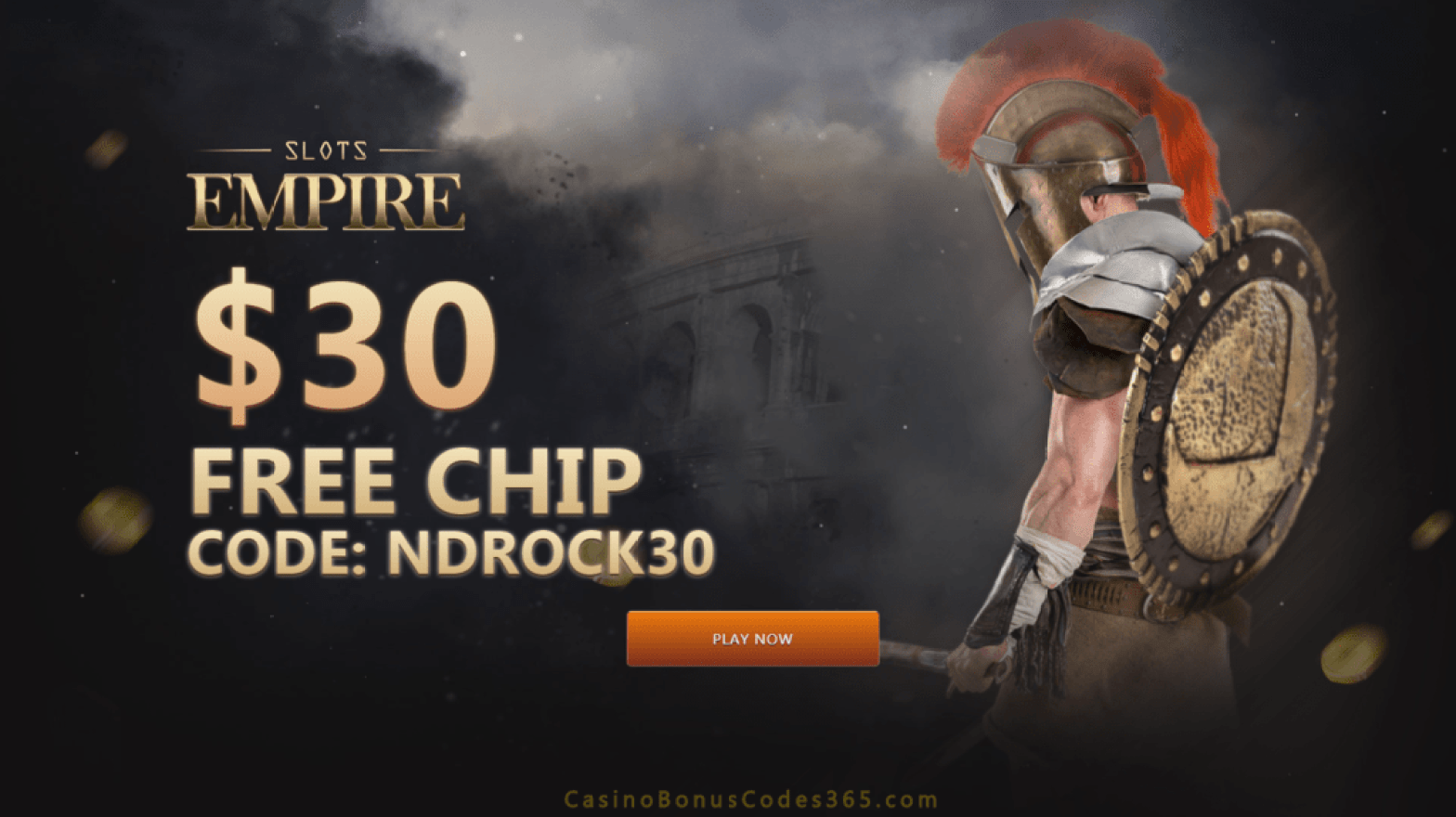 Slots Empire Exclusive $30 FREE Chip Welcome Deal