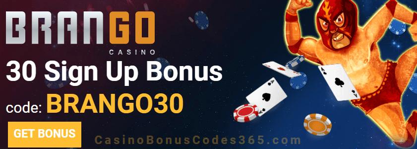 Casino Brango 30 Sign Up Free Chip Casino Bonus Codes 365
