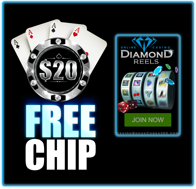 Diamond Reels Casino $20 FREE Chip Exclusive Deal