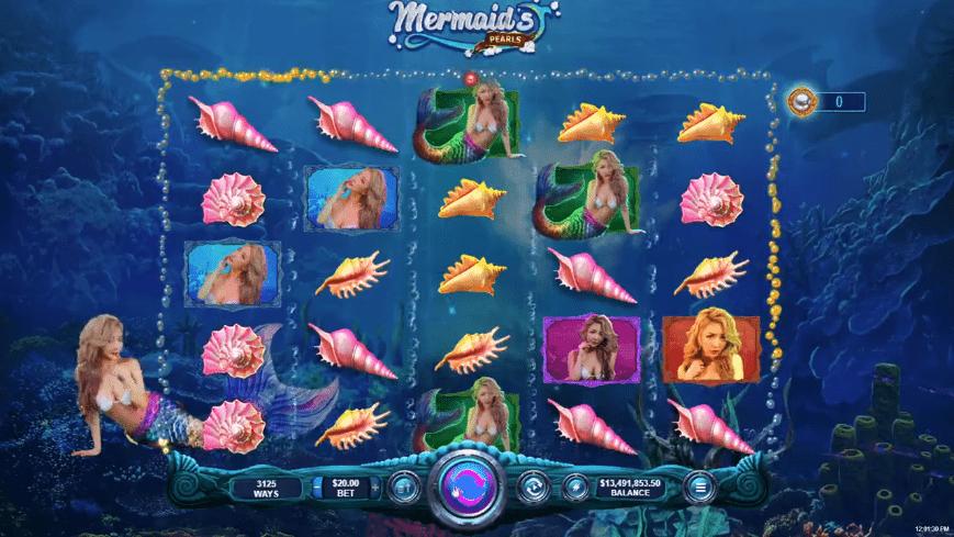 Slotastic Casino RTG Marmaids Pearl