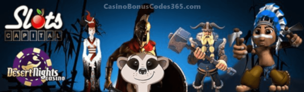 Desert Nights Casino Slots Capital Online Casino Saucify Games LIVE