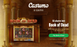 Casumo Casino 100% Match plus 20 FREE Spins Play'n Go Book of Dead Bonus Welcome Package