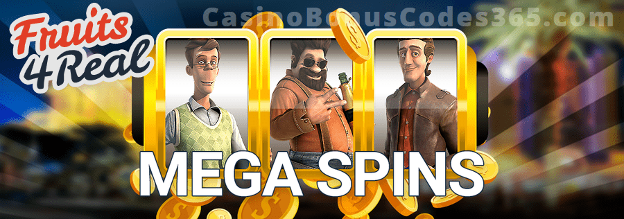 Fruits4Real Mega Spins Weekend in Vegas Betsoft