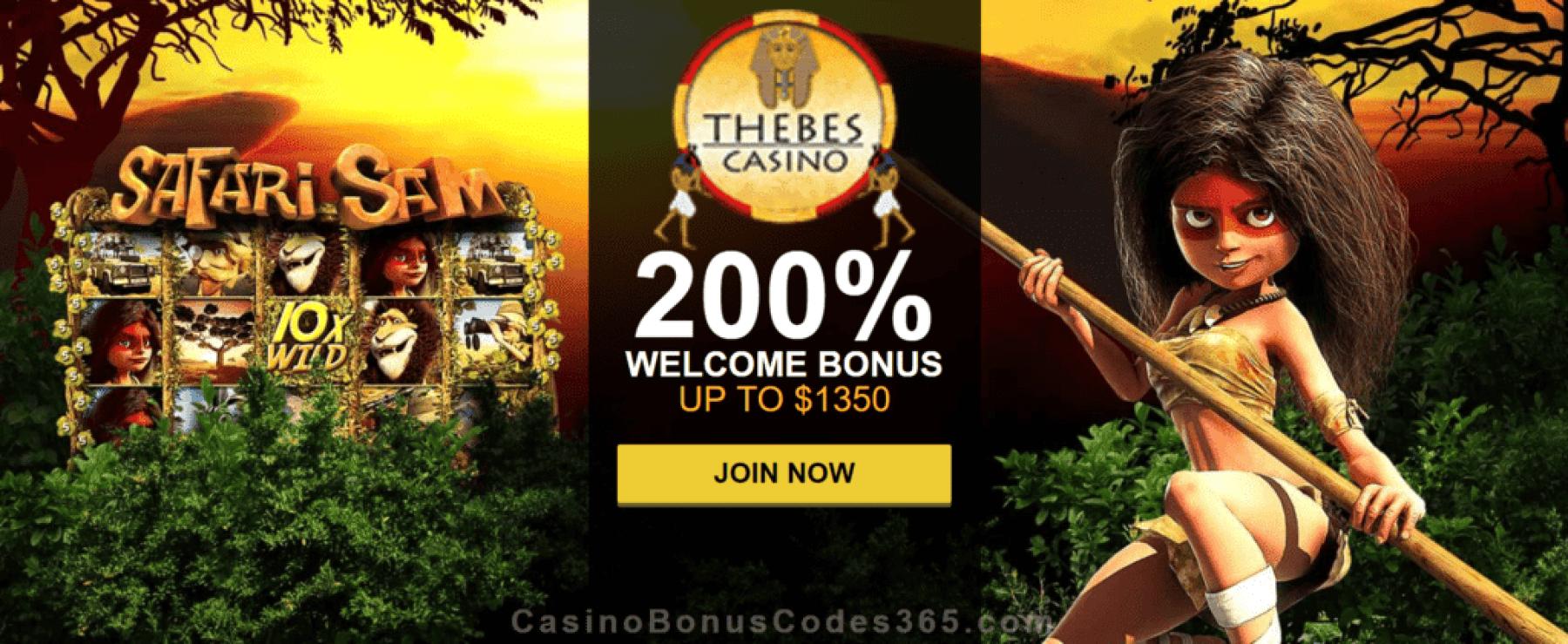 Thebes Casino | Casino Bonus Codes 365