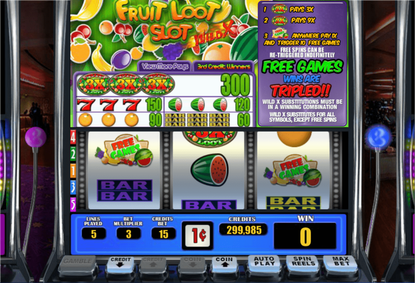 Lincoln Casino 50 FREE Spins on WGS Fruit Loot June Special Deal