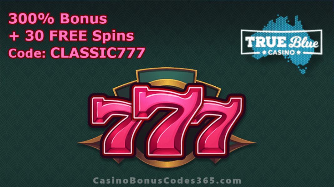 True Blue Casino RTG 777 New RTG Game Special Offer
