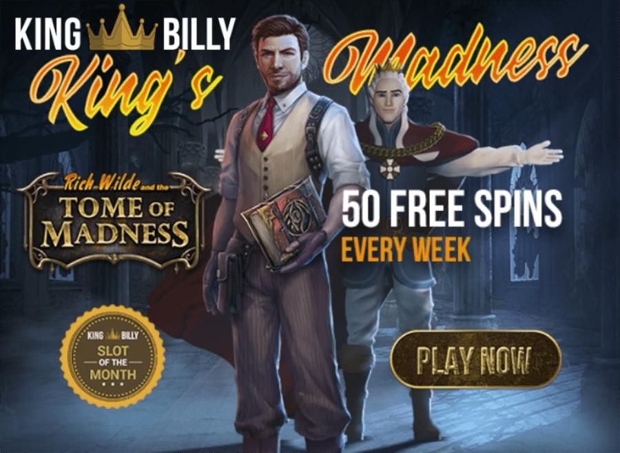 King Billy Casino August Slot Of The Month Casino Bonus Codes 365
